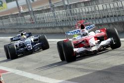 Jarno Trulli and Mark Webber