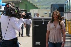 Tamara Ecclestone is the new presenter for Red Bull Racing