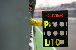 Pitboard of Olivier Tielemans