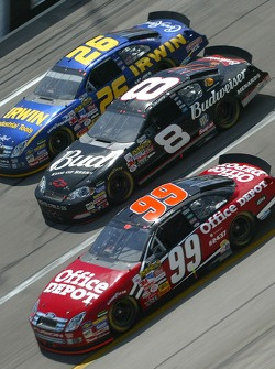 Carl Edwards, Dale Earnhardt Jr. and Jamie McMurray