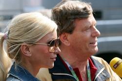 Tatjana Gsell and Prinz Ferfried von Hohenzollern