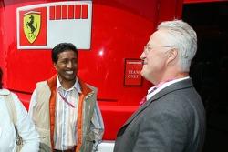 Balbir Singh and Rolf Schumacher