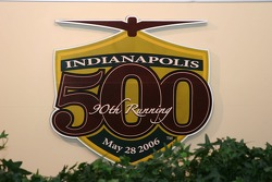 Offical logo of the 90th Indianapolis 500