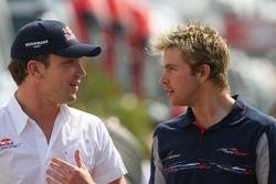 Robert Doornbos with Scott Speed