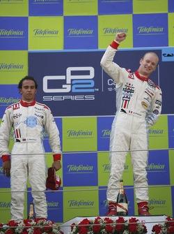 Alexandre Premat 1st, Lewis Hamilton 2nd
