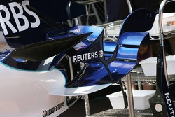 Williams bodywork in the pitlane
