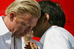 Boris Becker and Pasquale Lattuneddu