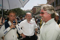 Keke Rosberg and Nico Rosberg