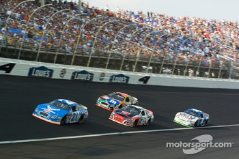 Ken Schrader,Elliott Sadler and Kyle Petty