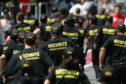 Security in the pitlane