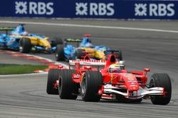 Felipe Massa leads the field