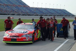 Jeff Gordon and the #24 Dupont Team