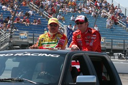 Terry Labonte and Dale Earnhardt Jr.