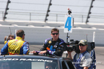 Bobby Labonte and Denny Hamlin