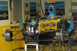 Car of Fernando Alonso