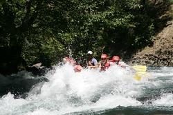 Panoz raft's turn to get a big splash