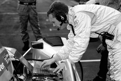 Audi Sport North America engineer at work