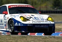 #23 Alex Job Racing Porsche 911 GT3 RSR: Mike Rockenfeller, Robin Liddell