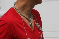 Amulet of Michael Schumacher