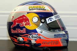 Helmet of test driver Robert Doornbos