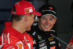 FIA press conference: Michael Schumacher and Kimi Raikkonen
