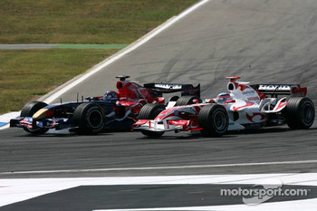 Scott Speed and Takuma Sato