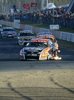 Garth Tander on his way to winning the Bigpond 400