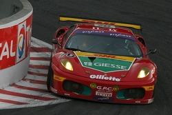 #70 GPC Sport Ferrari 430 GT2 LM: Gabriele Gardel, Fabrizio de Simone, Luca Drudi, Marco Cioci