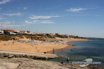 Visit of Vendée: a beautiful beach on the Atlantic in Brétignolles sur mer