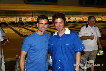 Jeff Gordon Foundation bowling tournament: Jeff Gordon and pro bowling star Danny Wiseman