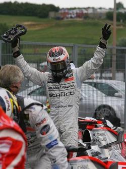 Pole winner Kimi Raikkonen