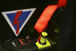 Detail of the Honda RA106