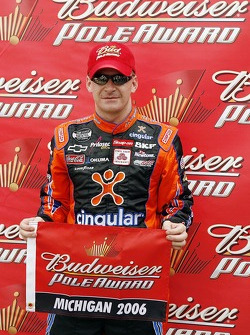 Pole winner Jeff Burton
