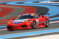 #63 Scuderia Ecosse Ferrari 430 GT2: Marino Franchitti, Tim Mullen