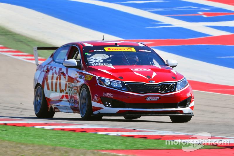 Circuito Kia : Kinetic motorsports kia racing optima mark