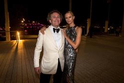 Alejandro Agag, CEO Formula E with lovely company