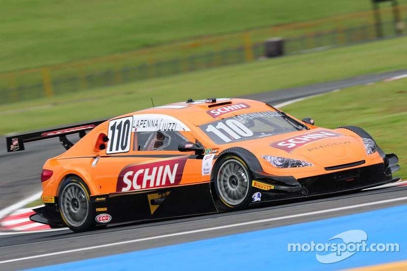 #110 Schin Racing Team Peugeot: Felipe Lapenna, Vitantonio Liuzzi