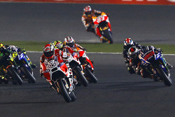 Andrea Dovizioso, Ducati Team and Jorge Lorenzo, Yamaha Factory Racing and Andrea Iannone, Ducati Team and Bradley Smith, Monster Yamaha Tech 3 and Dani Pedrosa and Marc Marquez, Repsol Honda Team