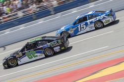 Brendan Gaughan, Richard Childress Racing and Clint Bowyer, Michael Waltrip Racing Toyota