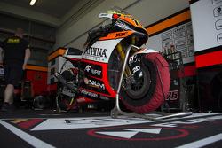 Forward Racing Yamaha team area