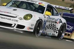 #81 Comfort Systems/ Synergy Racing Porsche GT3 Cup: Steve Johnson, Robert Nearn