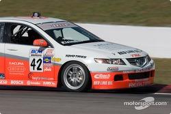 Pierre Kleinubing (#42 Acura TSX)
