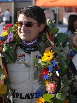 Mike Borkowski celebrates
