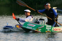 Final race between Pierre Kaffer and Martin Tomczyk