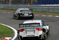 Bruno Spengler leads Heinz-Harald Frentzen