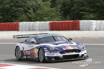 #33 Race Alliance Motorsport Aston Martin DBR9: Karl Wendlinger, Philipp Peter