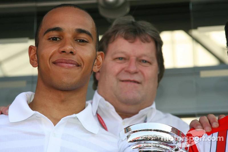 Lewis Hamilton winner 2006 GP2 Championship