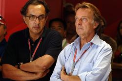 Sergio Marchionne and Luca di Montezemolo