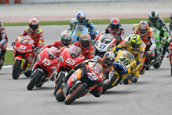Start: Dani Pedrosa leads the field