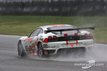 #55 JMB Racing Ferrari 430 GT2: Tim Sugden, Iradj Alexander-David